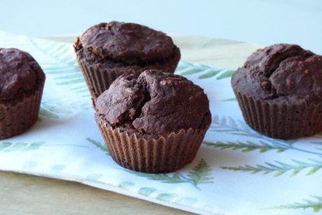 Muffins de chocolate y remolacha I VEGANOS Y SIN GLUTEN