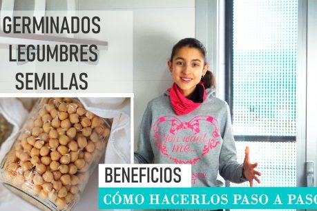Germinar las legumbres y los granos integrales ¿Es una mejor opción? ¿Qué ventajas nos aporta y cómo hacerlo paso a paso?