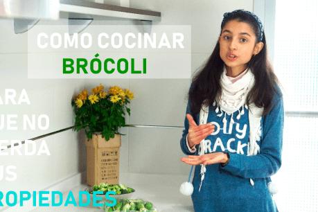Cómo cocinar el brócoli y las coles para que no pierdan sus propiedades I RECETA DE CREMA DE BRÓCOLI