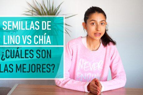 Chía vs lino: Beneficios demostrados de las semillas de chía y de las semillas de lino ¿Cuales son las mejores?